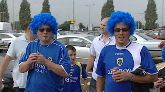 Cardiff City FC fans