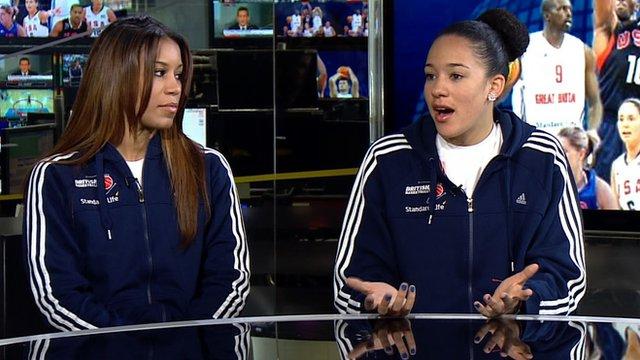 Team GB's Lauren Thomas-Johnson and Azania Stewart