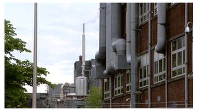 Cooling tower in Edinburgh
