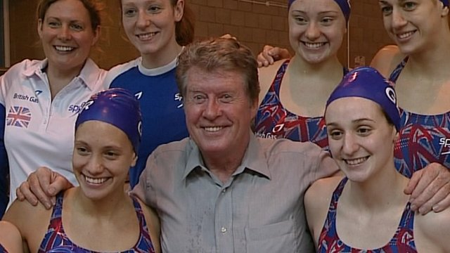 Theatre legend, Michael Crawford has been working with the squad helping them with their artistic marks