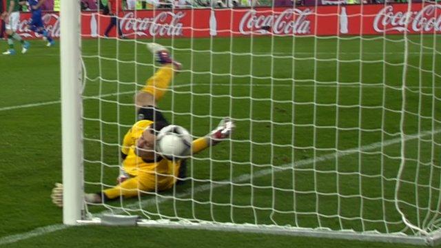 Shay Given beaten by Croatian third