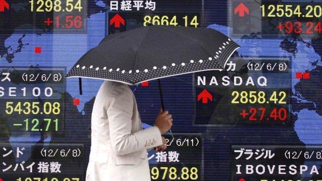 Brokers in Tokyo, Japan