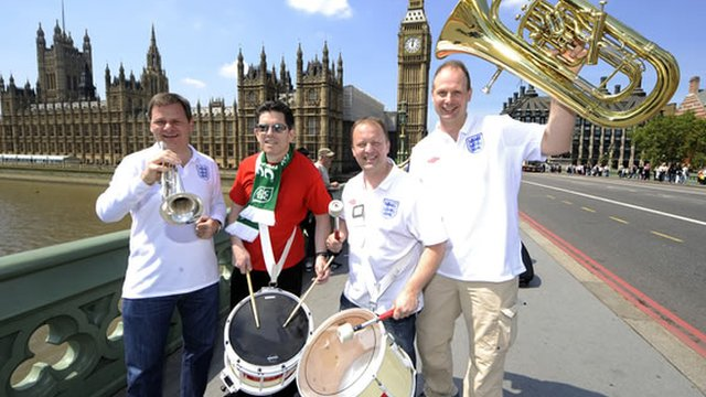 England Supporters Band