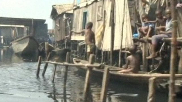 Children living in Makoko