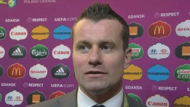 Shay Given says it is too soon to be thinking about his international future after the hammering by Spain