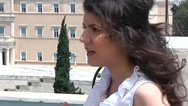 Law student Lydia Tsioli