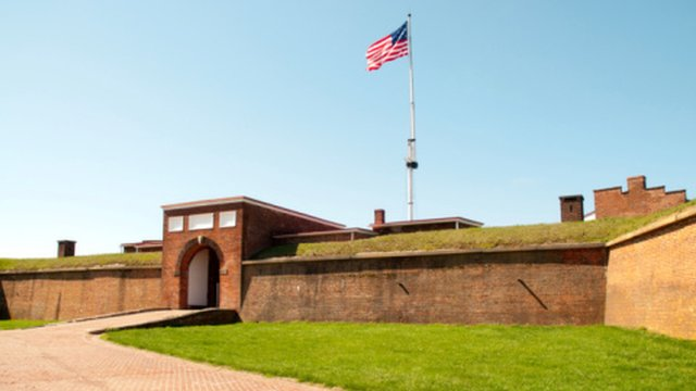 Fort McHenry, the birthplace of the US national anthem