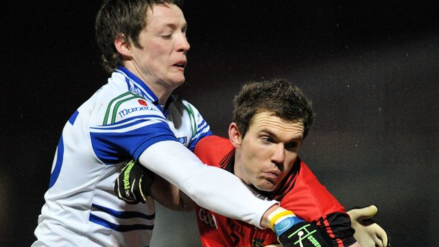 Action from Monaghan against Down