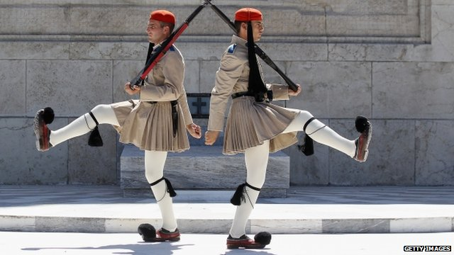 Guards in Greece