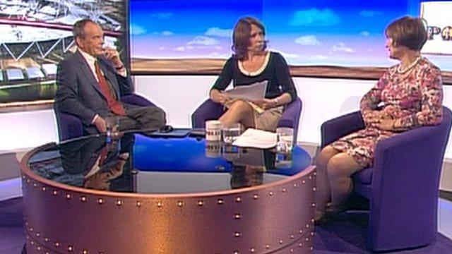 Simon Jenkins, Jo Coburn and Tessa Jowell