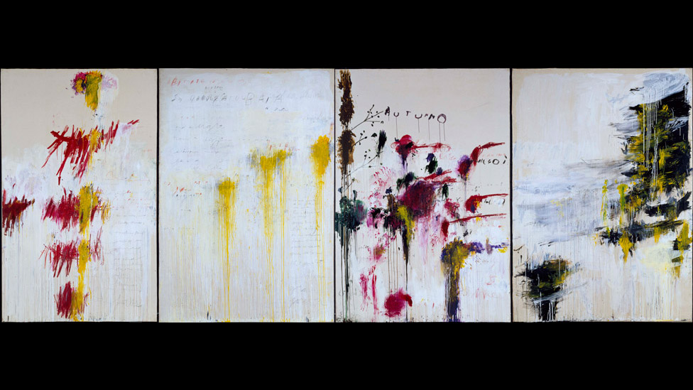 bbc news - in pictures: turner monet twombly at tate liverpool