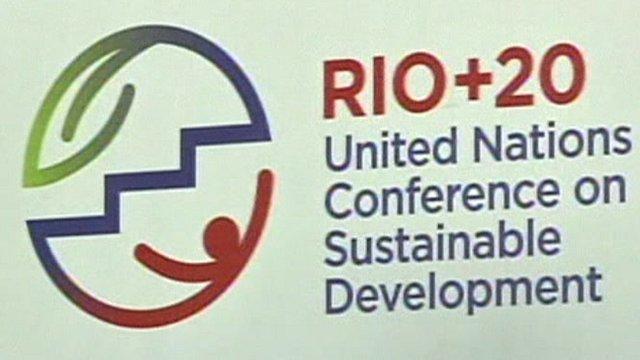Rio+20 sign
