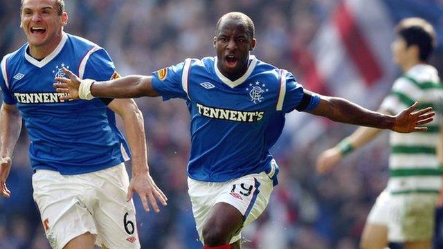 Sone Aluko of Rangers and Nigeria
