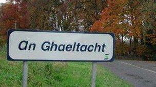 Soidhne air crìoch na Gaeltachta