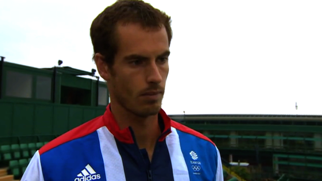 Andy Murray ready for SW19 and Olympics