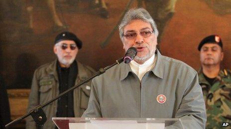 Paraguay's President Fernando Lugo faces impeachment - BBC News