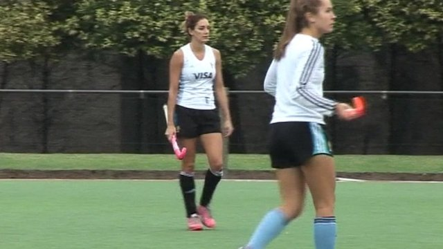 Argentinian women's hockey team