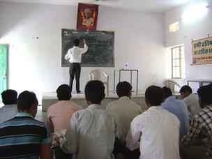 Village school in Soda