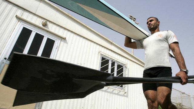 Haider Rashid, Iraqi rower