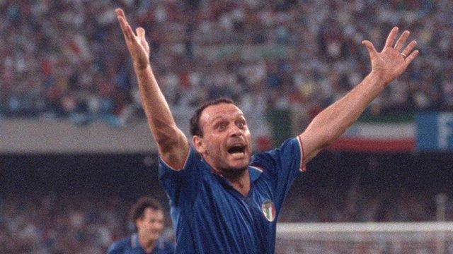 Italy's Toto Schillaci