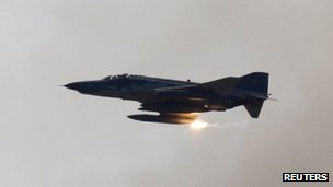 Turkish Air Force F-4 war plane (file picture)