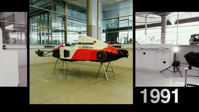 McLaren's 1991 car