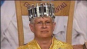Christine James yn Eisteddfod 2005