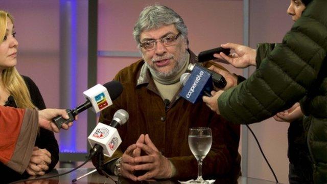 Ousted President Fernando Lugo