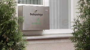 Baby box in Germany