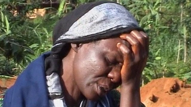 Ugandan landslide survivor