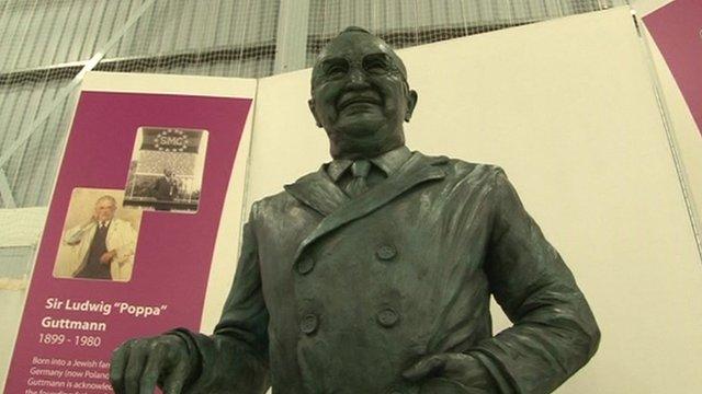Statue of Sir Ludwig Guttmann