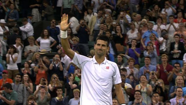 Defending champion Novak Djokovic