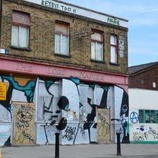 Abandoned pub