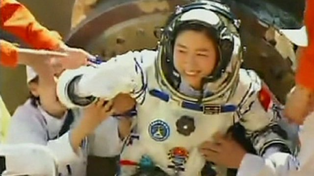 China's first woman in space