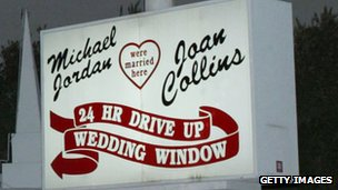 24-hour wedding sign