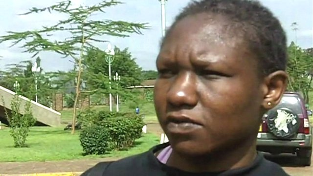 Elizabeth Adhiambo, the first female Kenyan boxer