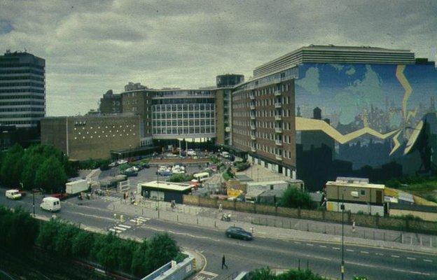 BBC TV Centre, 1994