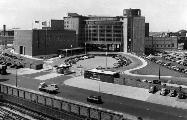 Television Centre, 1961