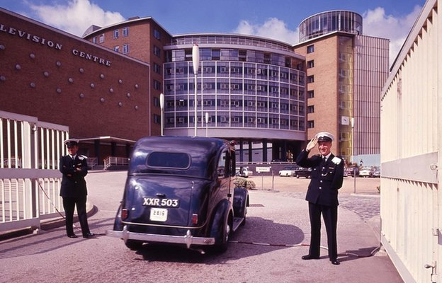 Entrance to Television Centre