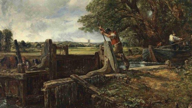 John Constable's The Lock