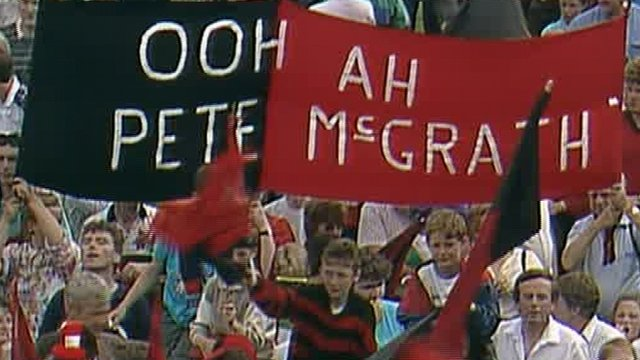 Banner at the 1991 Ulster Final