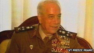 Mustafa Tlas. File photo