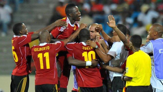 Angola's Palancas Negras