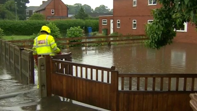Floods in Swinefleet