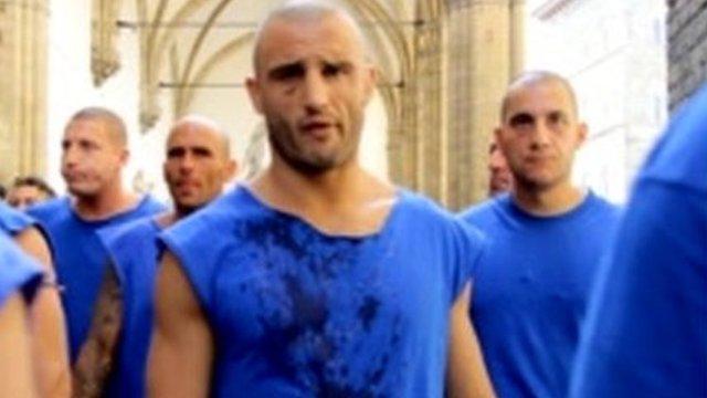 Calcio Storico Fiorentino players