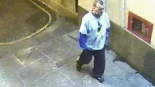 CCTV still of Ian Tomlinson on 1 April 2009