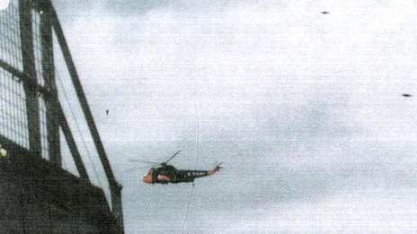 Helicopter and UFOs