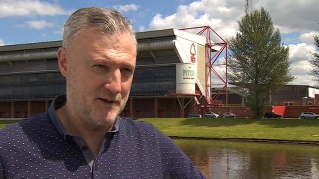 Garry Birtles, former Nottingham Forest striker
