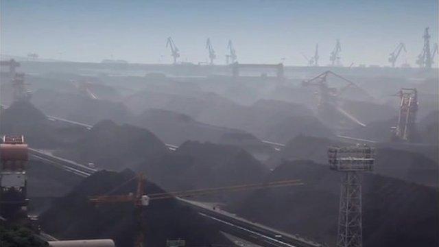 China's biggest coal port