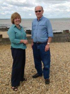 The Reverend Helen Letley & Pastor Chris Izzard